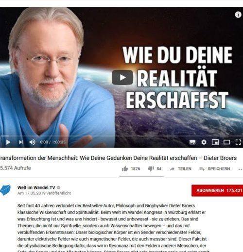 Dieter Broers zur Zirbeldrüse, Sonnenaktivität, Schumann-Frequenz und der Erschaffung unserer Realität
