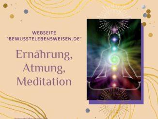 Ernährung Atmung Meditation