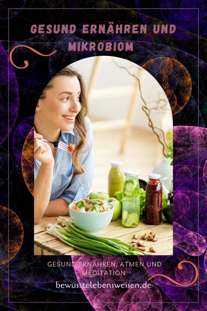 gesund ernähren und Mikrobiom
